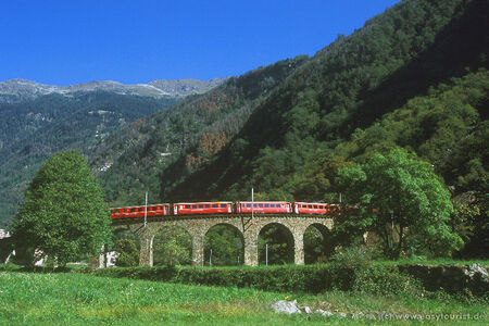 Original Bernina- und Glacier-Express